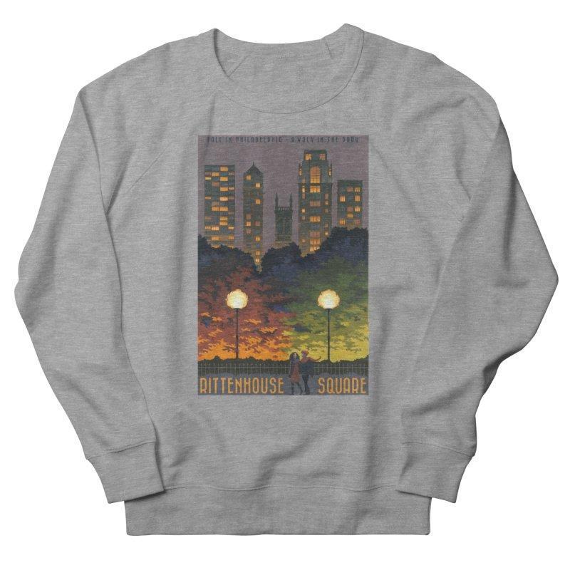 Rittenhouse Square is a Walk in the Park Women's Sweatshirt by Sheaffer's Artist Shop