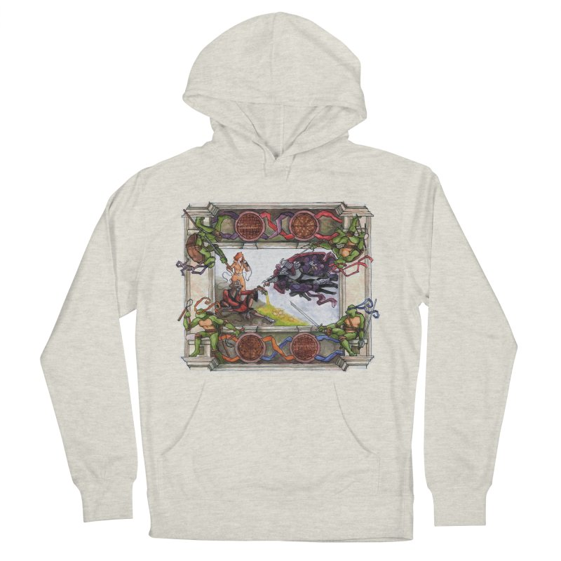 The Creation of Awesome Women's Pullover Hoody by Sheaffer's Artist Shop