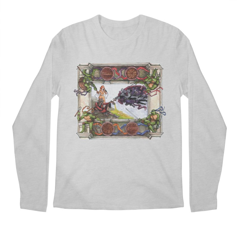 The Creation of Awesome Men's Longsleeve T-Shirt by Sheaffer's Artist Shop