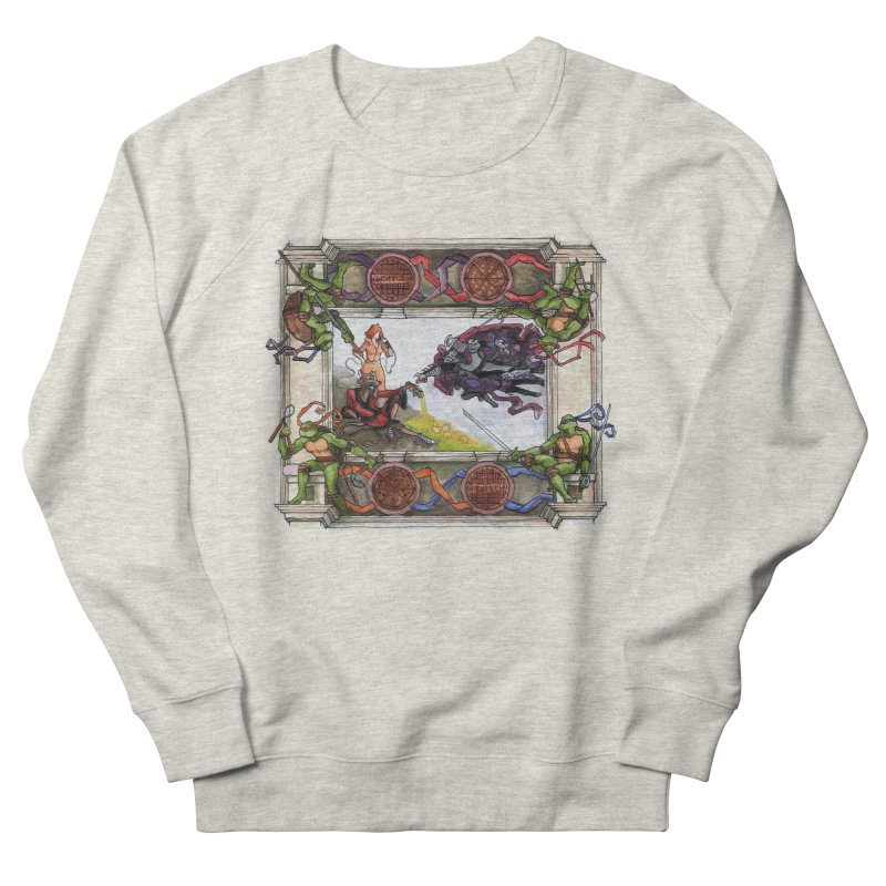 The Creation of Awesome Women's Sweatshirt by Sheaffer's Artist Shop