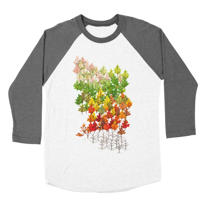 Seasons Women's Baseball Triblend T-Shirt by Sheaffer's Artist Shop