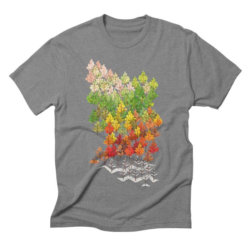 Seasons Men's Triblend T-shirt by Sheaffer's Artist Shop