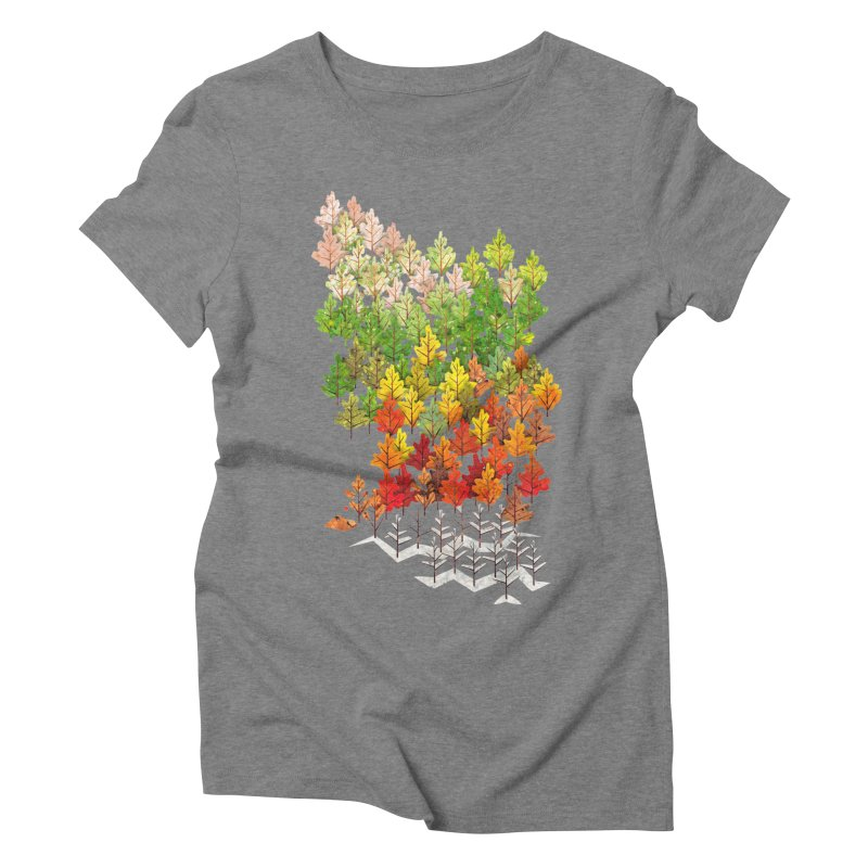 Seasons Women's Triblend T-shirt by Sheaffer's Artist Shop