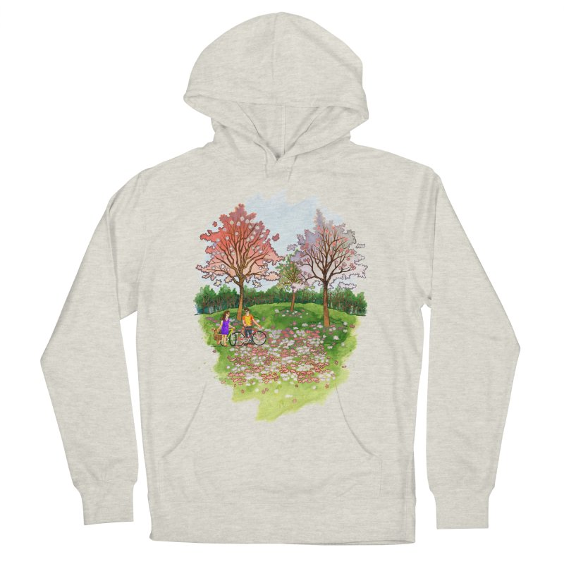 Perfect Place for a Picnic Men's Pullover Hoody by Sheaffer's Artist Shop