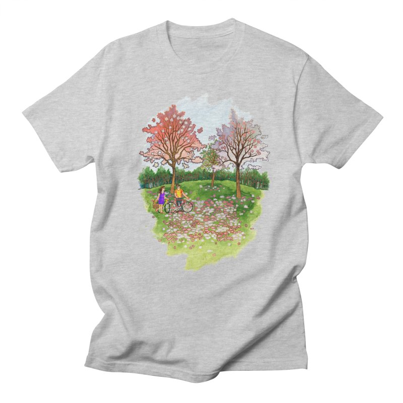 Perfect Place for a Picnic Men's T-Shirt by Sheaffer's Artist Shop