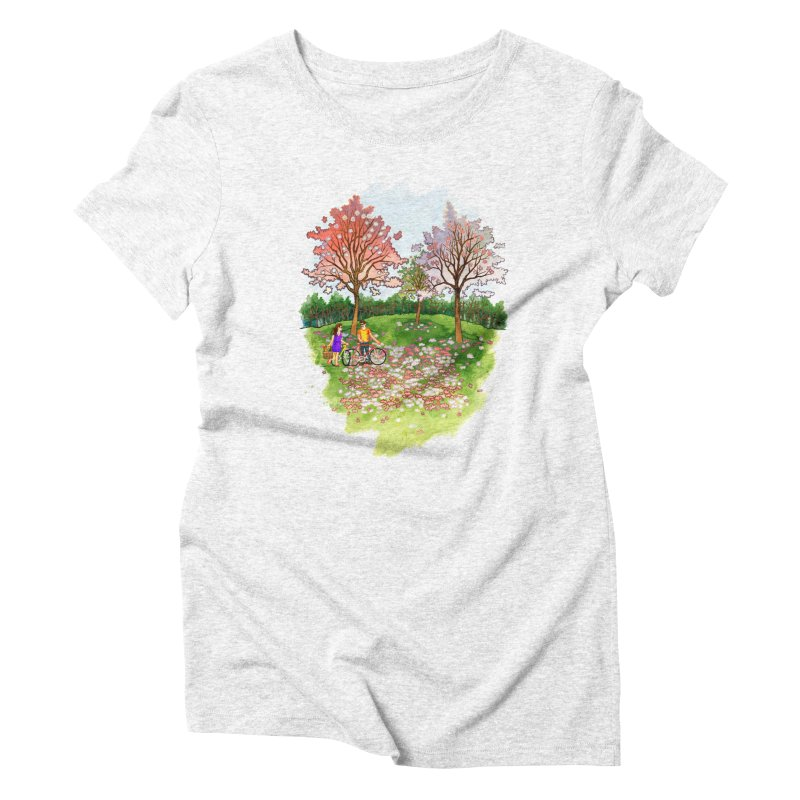 Perfect Place for a Picnic Women's Triblend T-shirt by Sheaffer's Artist Shop