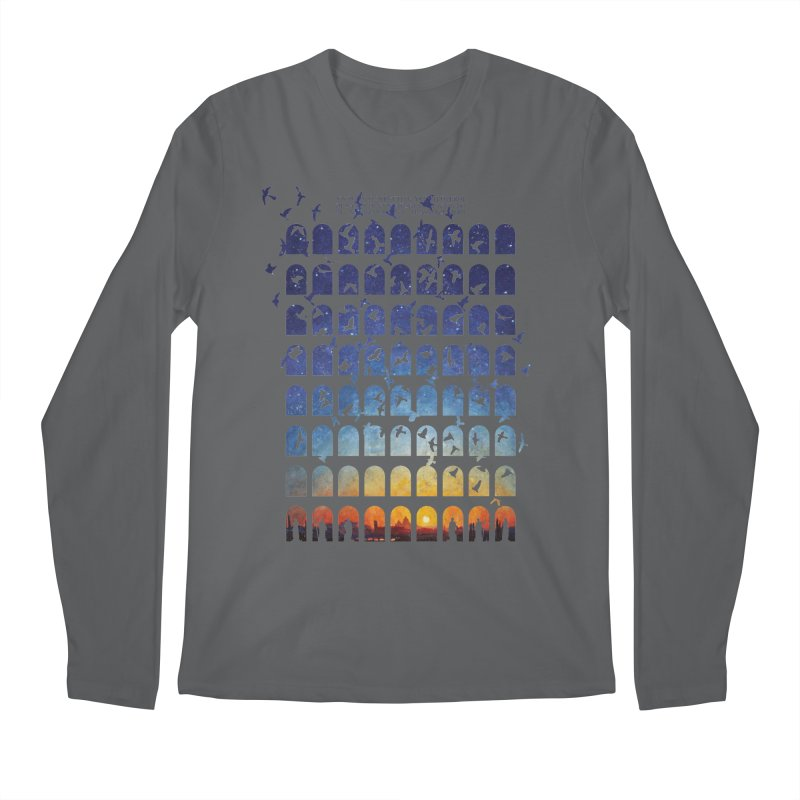 Transitions Men's Longsleeve T-Shirt by Sheaffer's Artist Shop