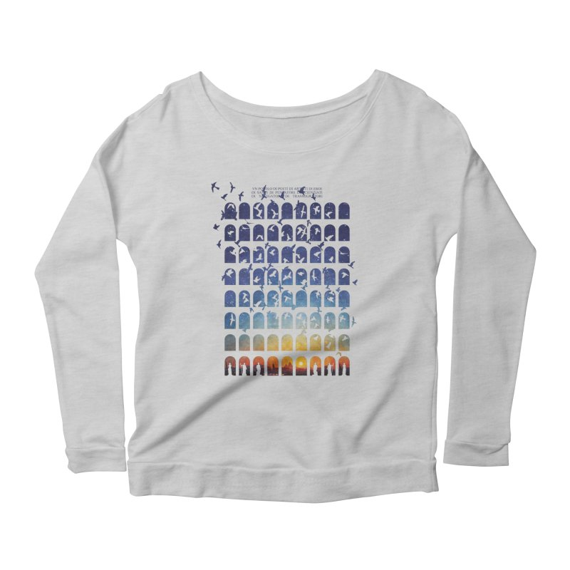 Transitions Women's Longsleeve Scoopneck  by Sheaffer's Artist Shop