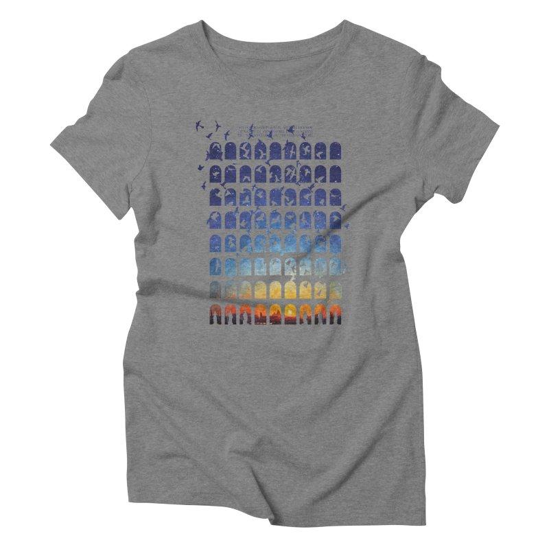 Transitions Women's Triblend T-Shirt by Sheaffer's Artist Shop