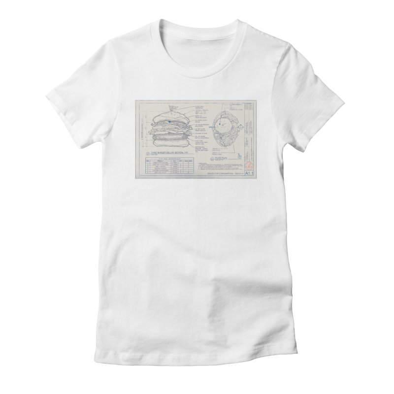 Refer to Fixinz Schedule Women's Fitted T-Shirt by Sheaffer's Artist Shop