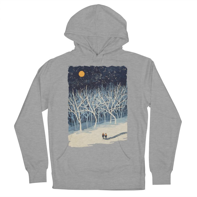 If on a Winter's Night... Women's Pullover Hoody by Sheaffer's Artist Shop
