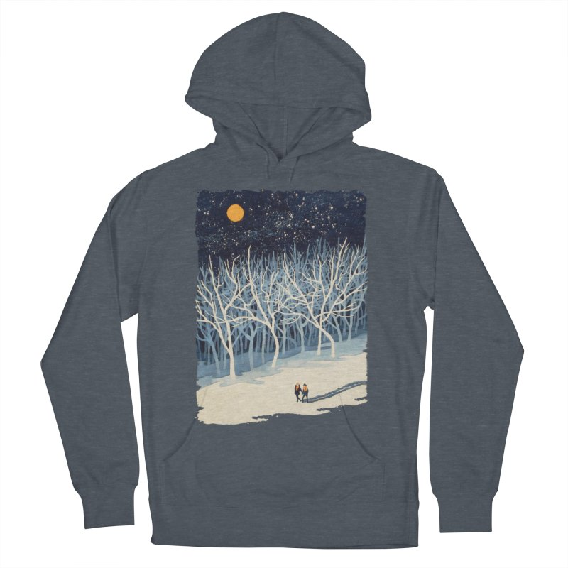 If on a Winter's Night... Men's Pullover Hoody by Sheaffer's Artist Shop