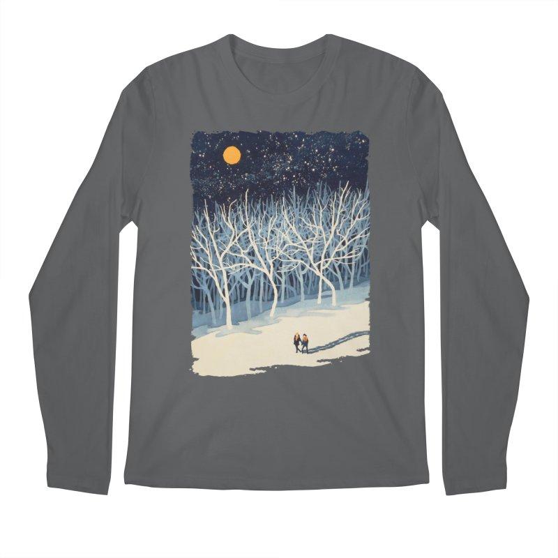 If on a Winter's Night... Men's Regular Longsleeve T-Shirt by Sheaffer's Artist Shop