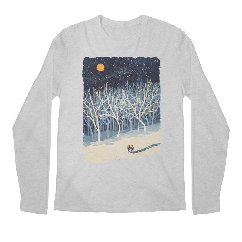 If on a Winter's Night... Men's Longsleeve T-Shirt by Sheaffer's Artist Shop