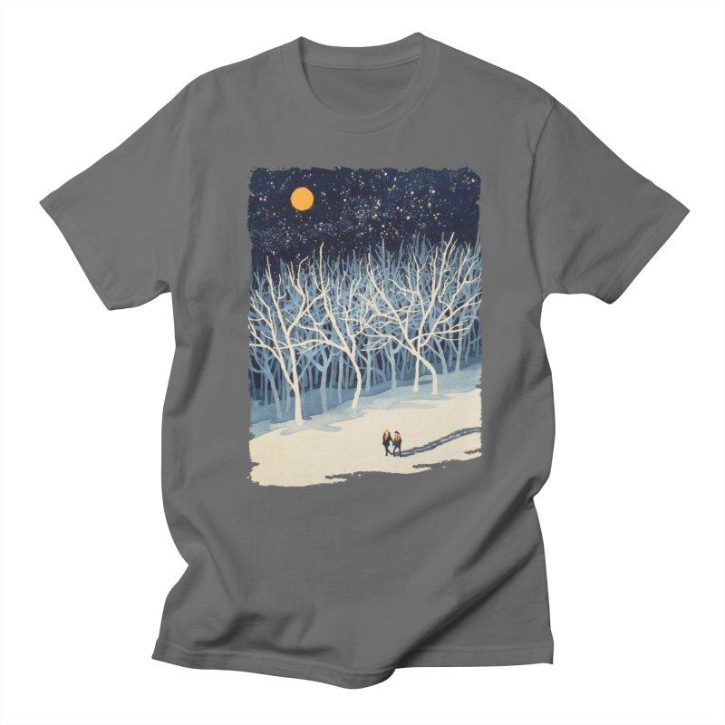 If on a Winter's Night... Men's T-shirt by Sheaffer's Artist Shop