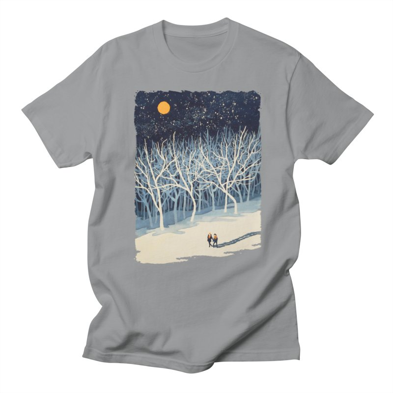 If on a Winter's Night... Men's T-Shirt by Sheaffer's Artist Shop