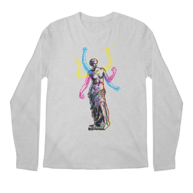 Made of Rock Men's Regular Longsleeve T-Shirt by Sheaffer's Artist Shop