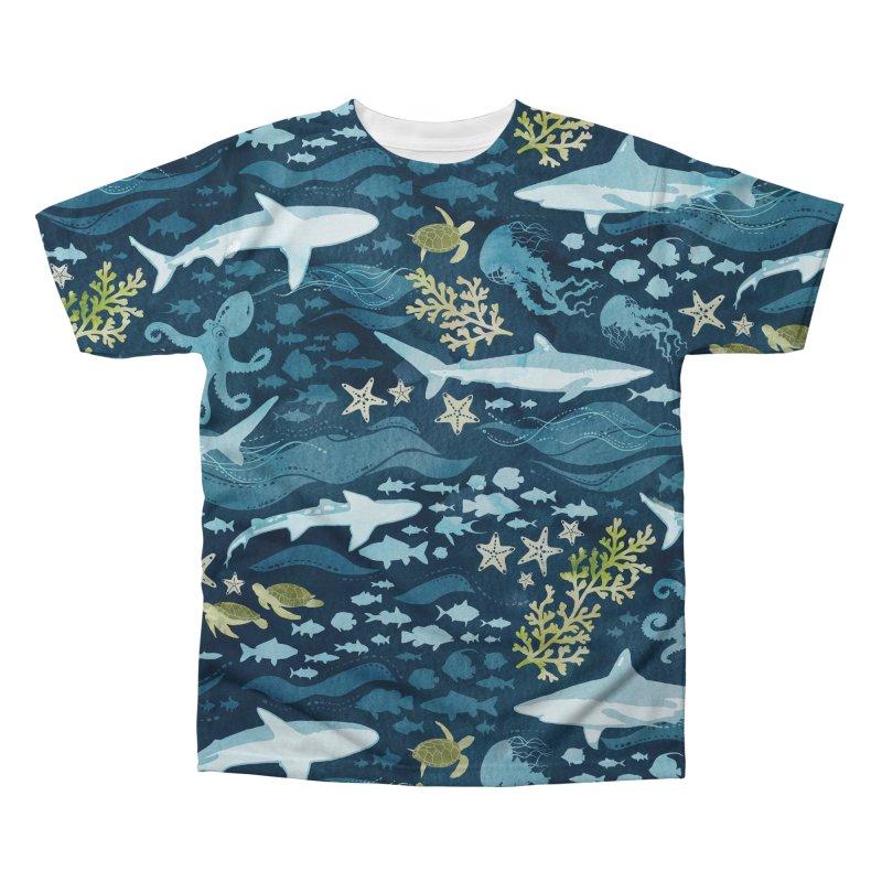 Shark Ocean Men's Regular All Over Print by Shedd Aquarium's Artist Shop