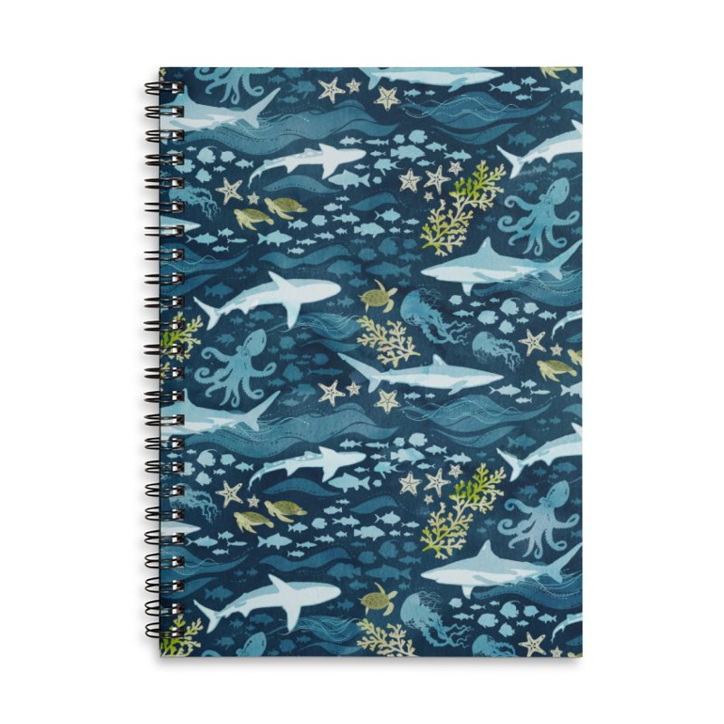 Shark Ocean Accessories Notebook by Shedd Aquarium's Artist Shop