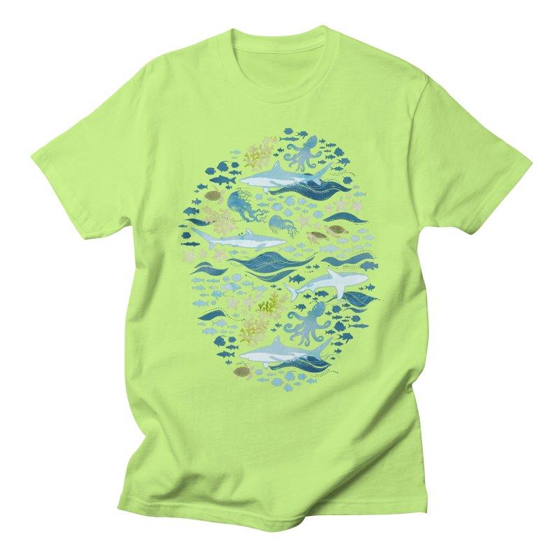 Shark Ocean Men's T-Shirt by Shedd Aquarium's Artist Shop