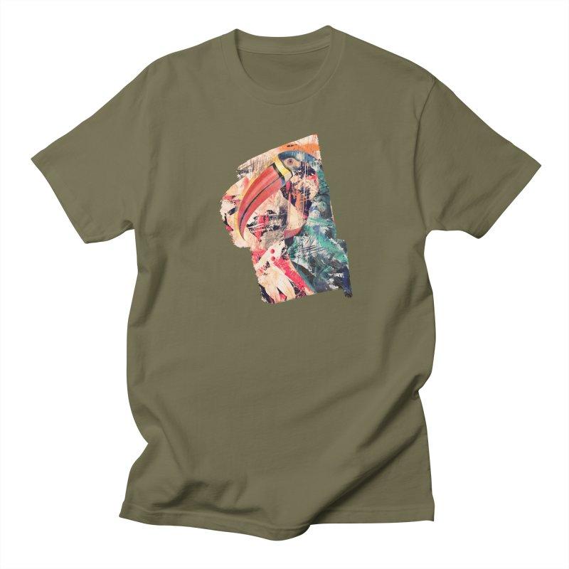 Abstract Tucan Men's T-Shirt by shehertz