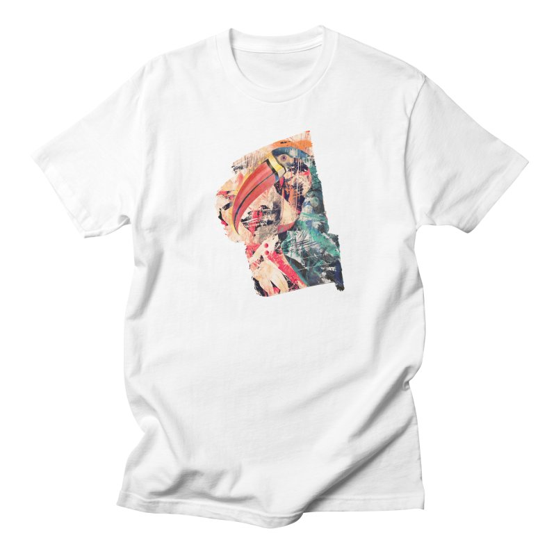 Abstract Tucan Men's T-Shirt by shehertz