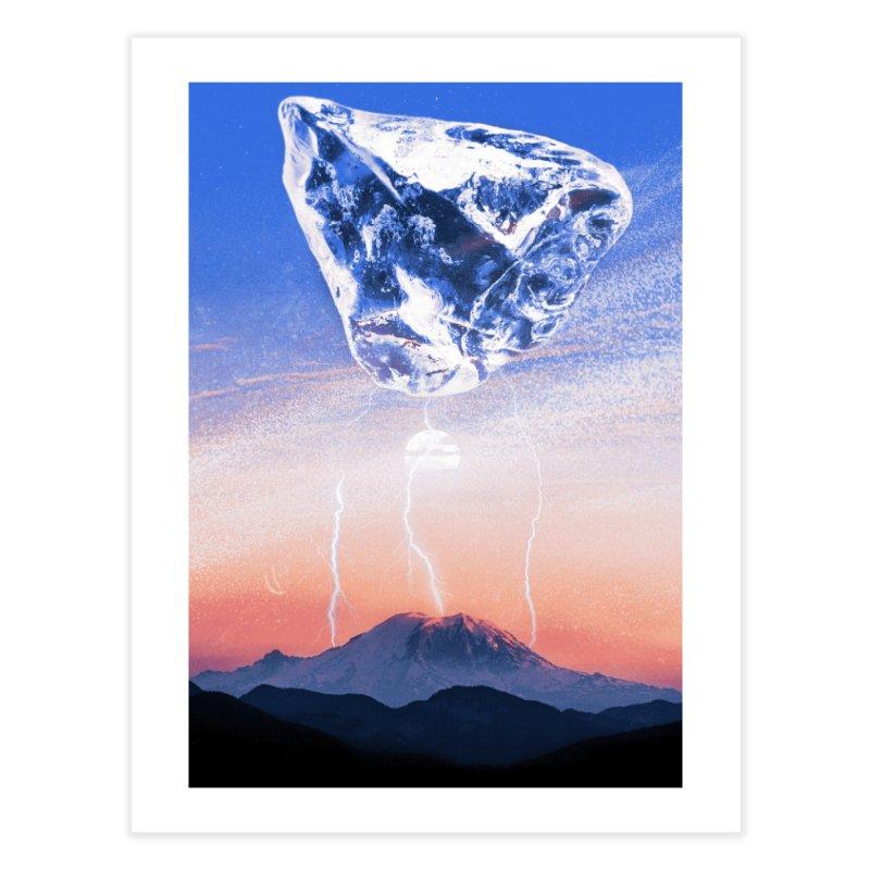 Ice Chunk Home Fine Art Print by shehertz