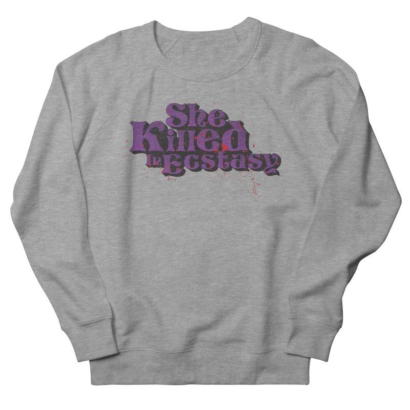 She Killed In Ecstasy Bloody  - Logo Tee Purple (Light Apparel) Women's Sweatshirt by She Killed In Ecstasy