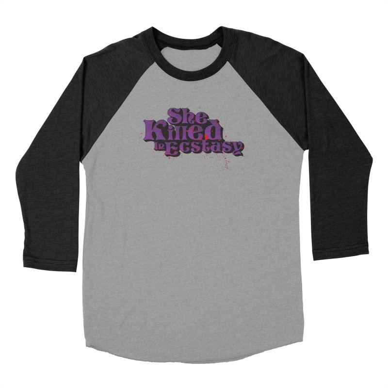 She Killed In Ecstasy Bloody  - Logo Tee Purple (Light Apparel) Men's Longsleeve T-Shirt by She Killed In Ecstasy