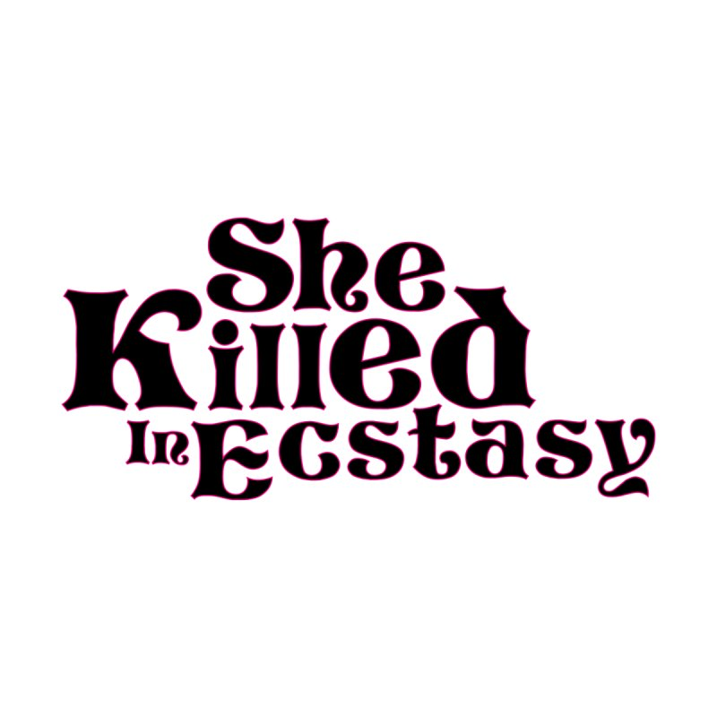 SKIE - Black Logo Women's V-Neck by She Killed In Ecstasy
