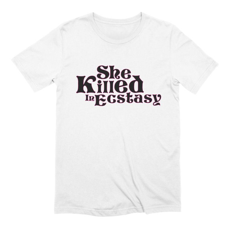 SKIE - Black Logo Men's T-Shirt by She Killed In Ecstasy