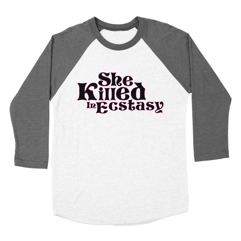 SKIE - Black Logo Men's Longsleeve T-Shirt by She Killed In Ecstasy