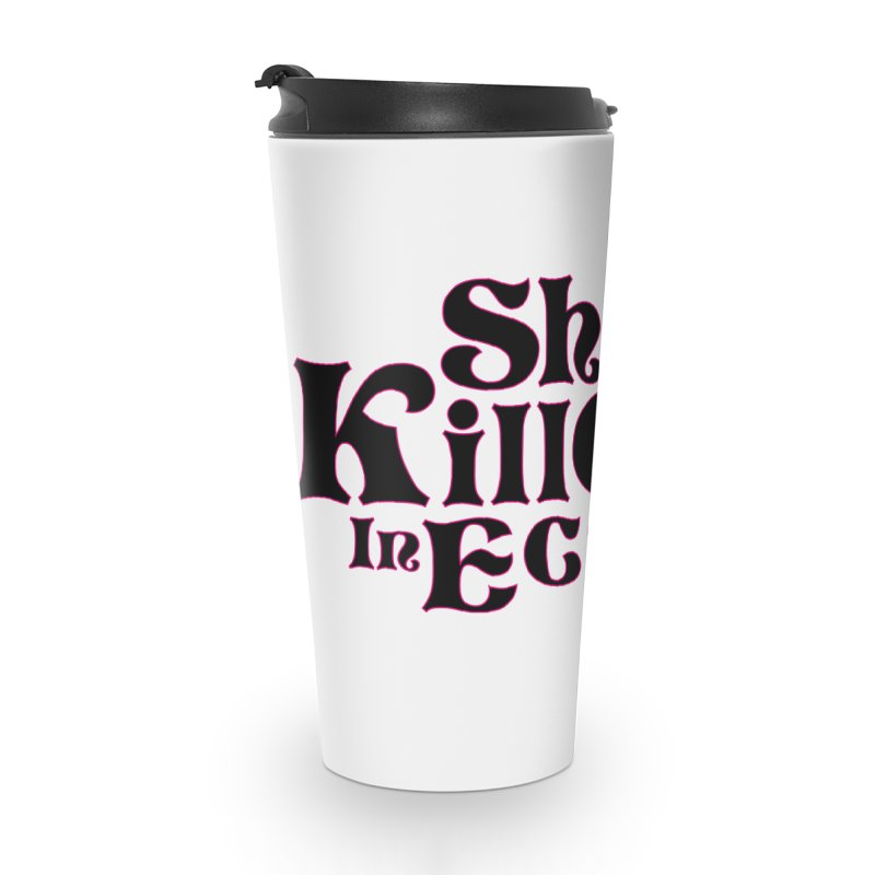 SKIE - Black Logo Accessories Mug by She Killed In Ecstasy