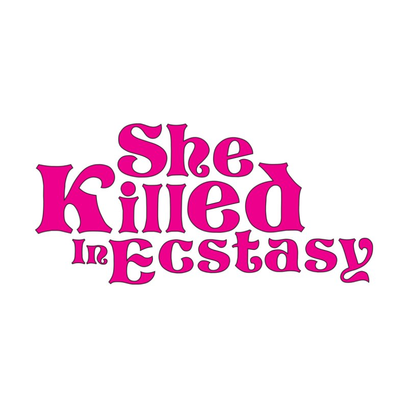 SKIE - Magenta Logo Accessories Sticker by She Killed In Ecstasy