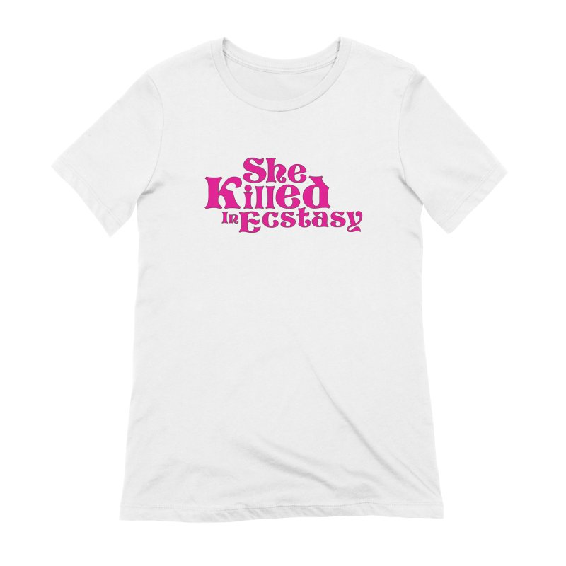 SKIE - Magenta Logo Women's Extra Soft T-Shirt by She Killed In Ecstasy