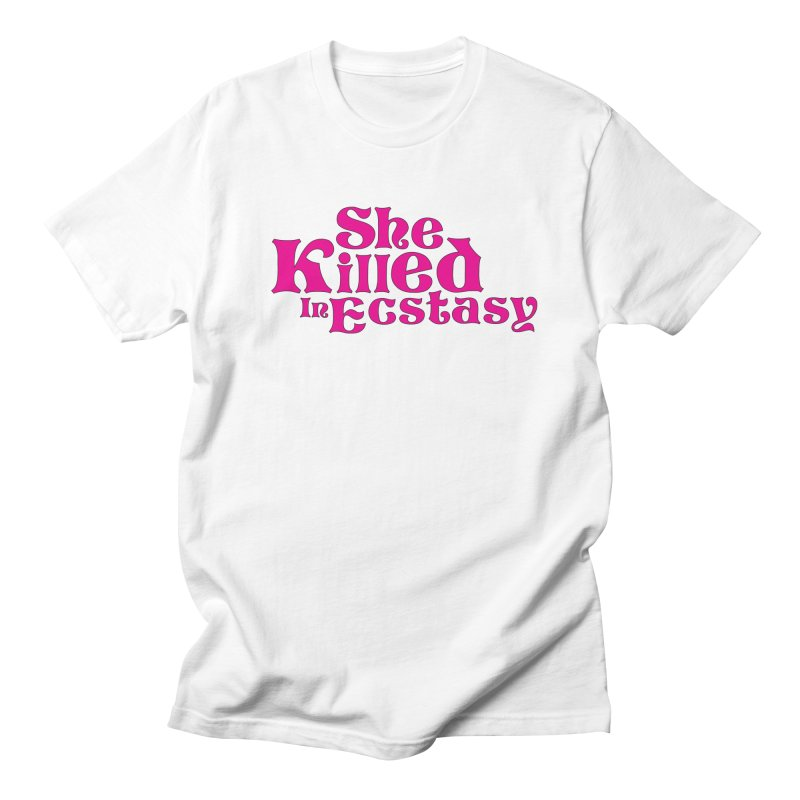 SKIE - Magenta Logo Women's Regular Unisex T-Shirt by She Killed In Ecstasy