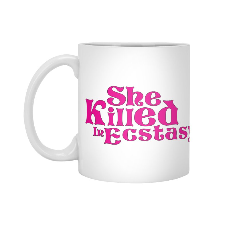 SKIE - Magenta Logo Accessories Standard Mug by She Killed In Ecstasy