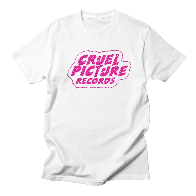 Cruel Picture Records Basic Logo (Magenta) Women's Regular Unisex T-Shirt by She Killed In Ecstasy