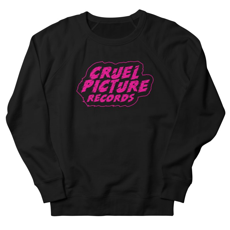 Cruel Picture Records Basic Logo (Magenta) Men's Sweatshirt by She Killed In Ecstasy