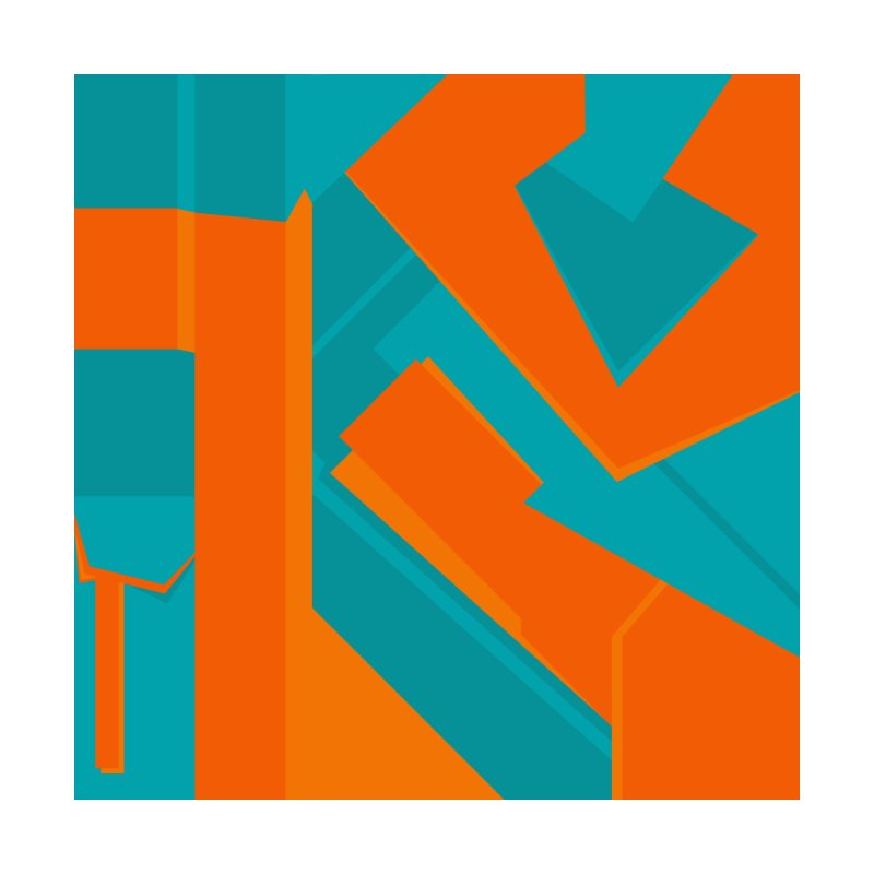Teal & Orange by Sheldon Stewart - Cool Stuff