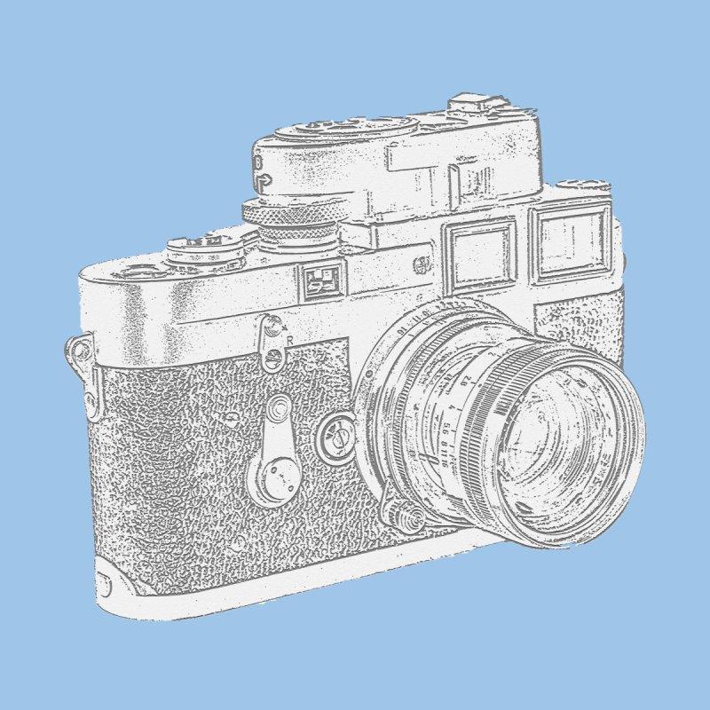 Retro Vintage Camera Side View by shellystill's Artist Shop