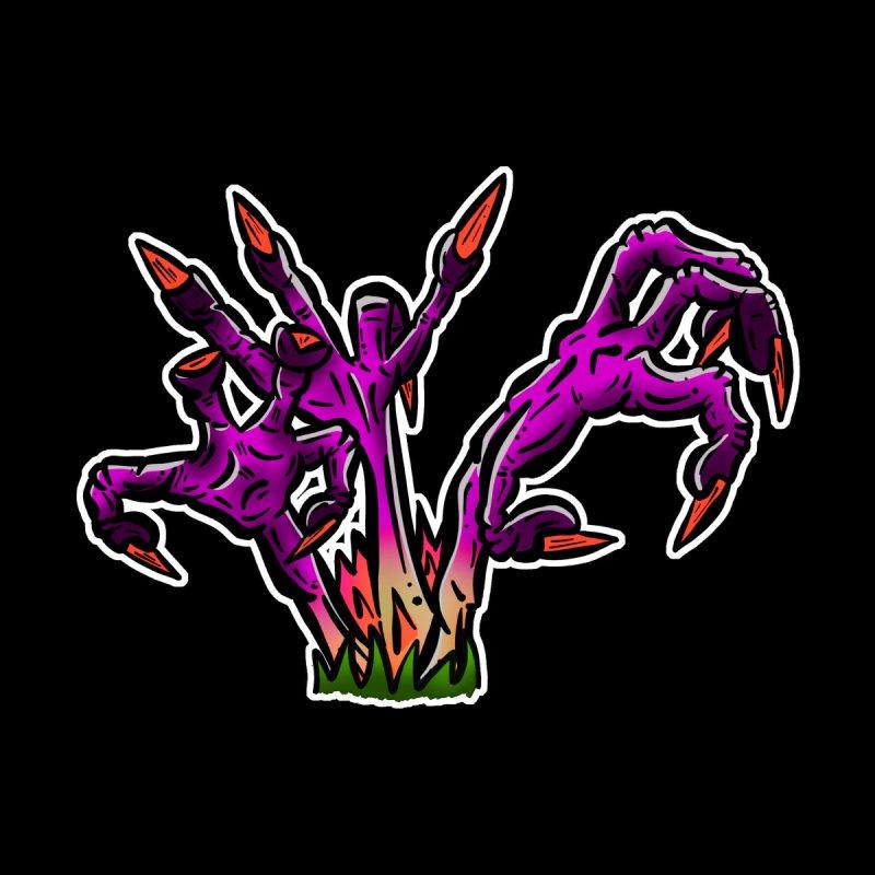 Zombie Fingers From the Grave - Putrid Purple by shellystill's Artist Shop