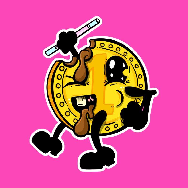 Benny Bad Chocolate Penny Coin Retro Cartoon by shellystill's Artist Shop