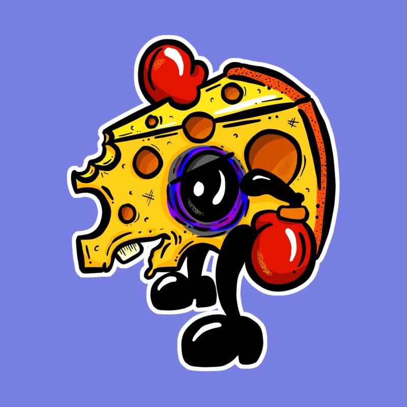 Boxing Edam Cheese Fighter Cartoon by shellystill's Artist Shop