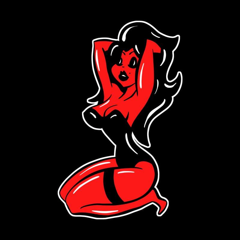 Sexy Red Devil Woman Cartoon by shellystill's Artist Shop