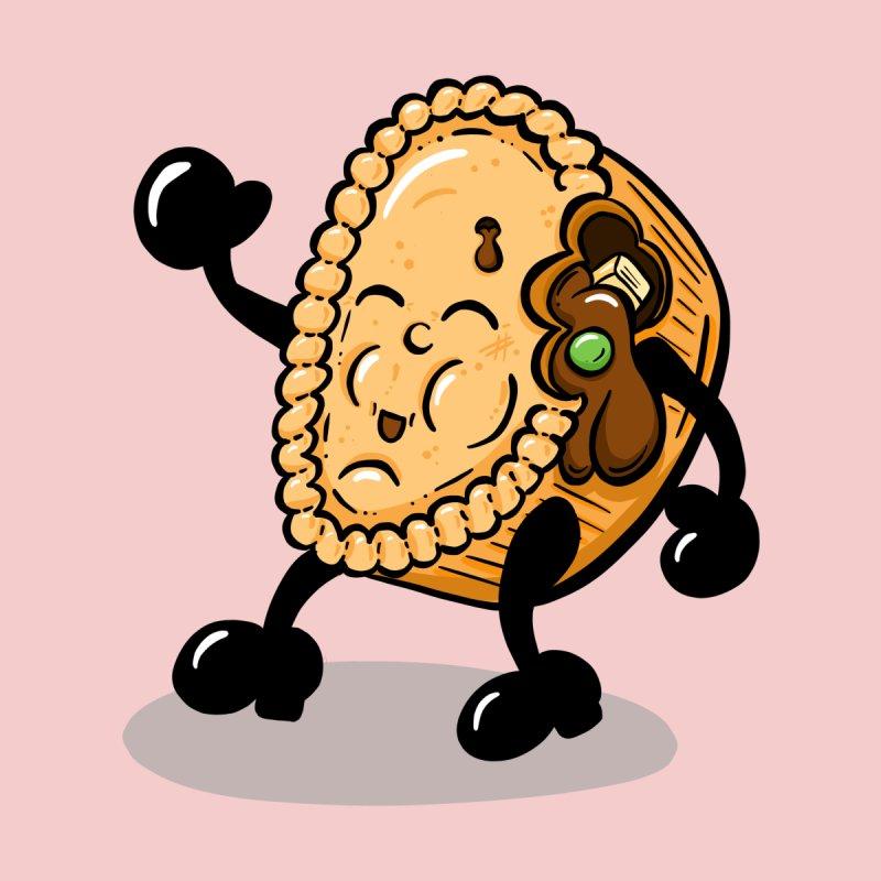 Mr Chicken and Gravy Pie Cartoon by shellystill's Artist Shop