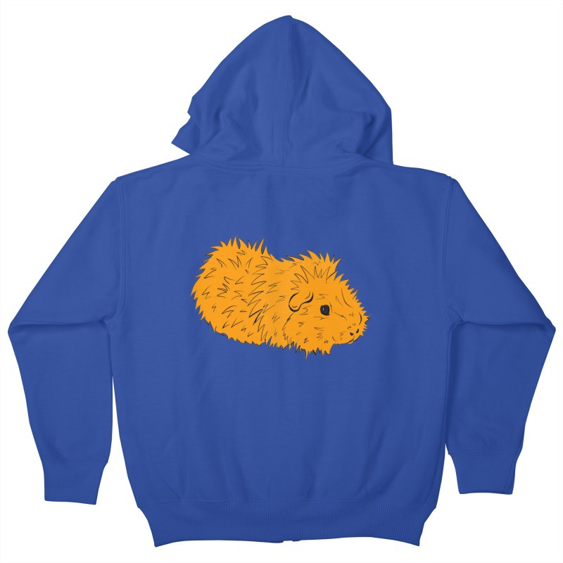 The Last Squeak In Town Kids Zip-Up Hoody by Shelly Still's Artist Shop