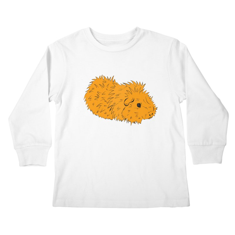 The Last Squeak In Town Kids Longsleeve T-Shirt by Shelly Still's Artist Shop