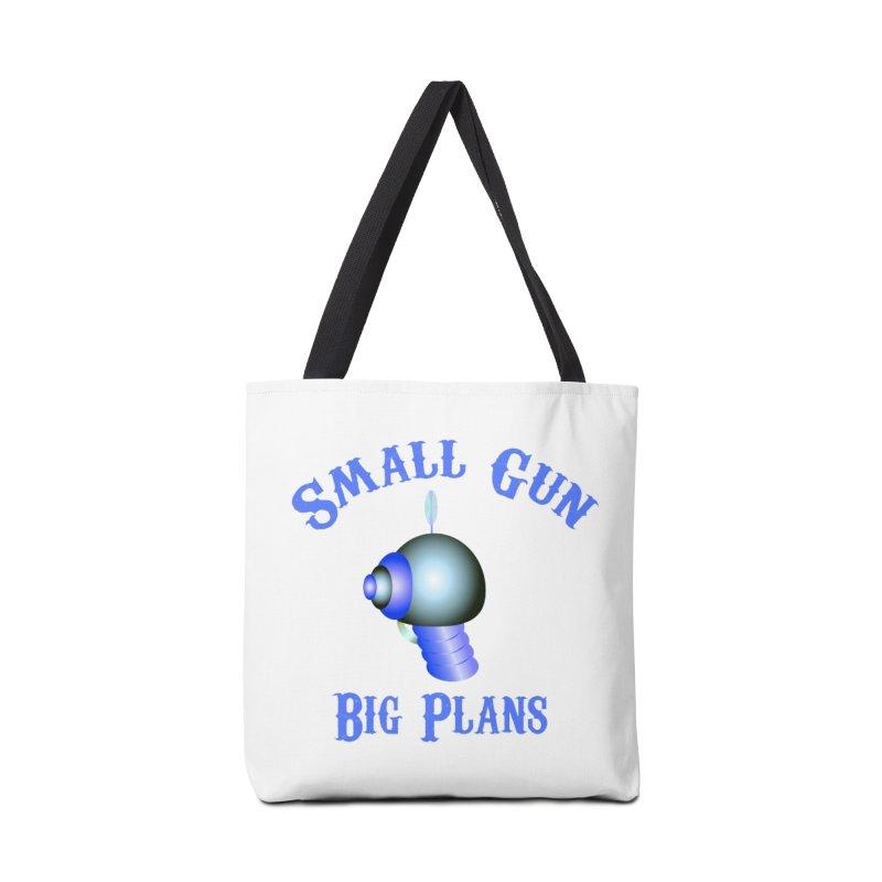 Small Gun, Big Plans Accessories Bag by Shelly Still's Artist Shop