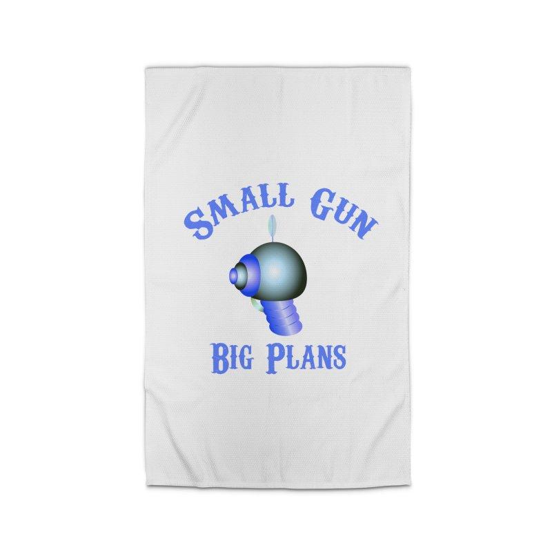 Small Gun, Big Plans Home Rug by Shelly Still's Artist Shop